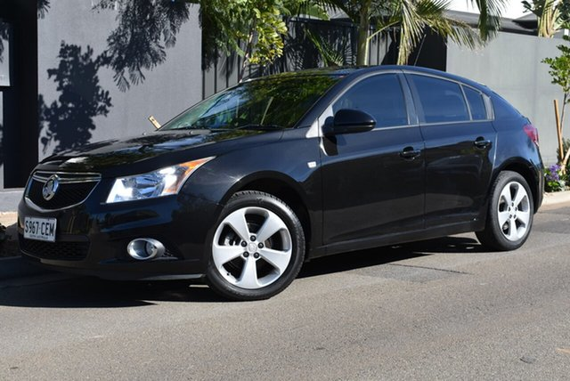 Used Holden Cruze JH Series II MY13 Equipe Brighton, 2013 Holden Cruze JH Series II MY13 Equipe Black 6 Speed Sports Automatic Hatchback