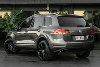2012 Volkswagen Touareg 7P MY13 V6 TDI Tiptronic 4MOTION Grey 8 Speed Sports Automatic Wagon.