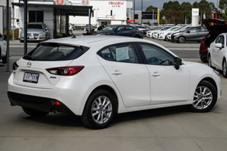 2015 Mazda 3 BM Series Neo White Sports Automatic Hatchback.