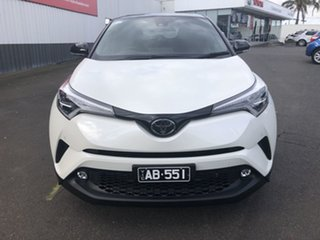 2018 Toyota C-HR NGX10R Koba S-CVT 2WD Crystal Pearl & Black Roof 7 Speed Constant Variable Wagon