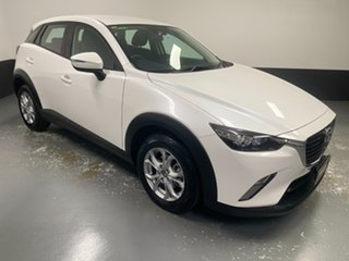 2017 Mazda CX-3 DK2W7A Maxx SKYACTIV-Drive White 6 Speed Sports Automatic Wagon.