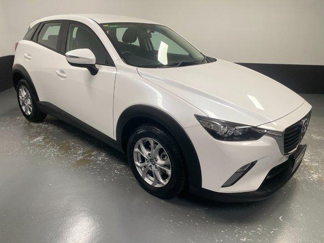 Used Mazda CX-3 DK2W7A Maxx SKYACTIV-Drive Cardiff, 2017 Mazda CX-3 DK2W7A Maxx SKYACTIV-Drive White 6 Speed Sports Automatic Wagon