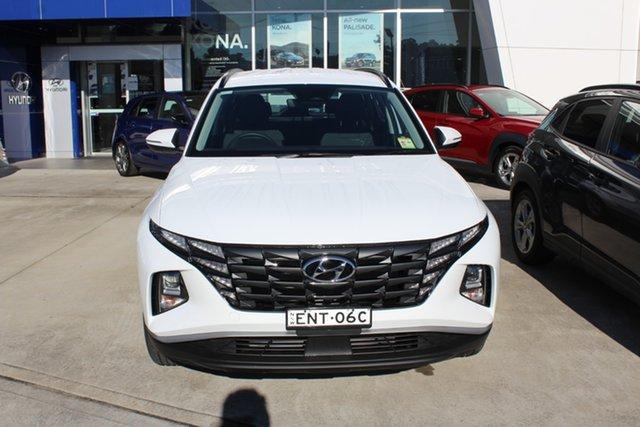 Demo Hyundai Tucson NX4.V1 MY22 2WD Cardiff, 2021 Hyundai Tucson NX4.V1 MY22 2WD White Cream 6 Speed Automatic Wagon