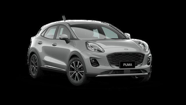 New Ford Puma JK 2021.25MY Puma Cardiff, 2021 Ford Puma JK 2021.25MY Puma Solar Silver 7 Speed Sports Automatic Dual Clutch Wagon