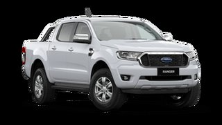 2021 Ford Ranger PX MkIII 2021.25MY XLT Arctic White 10 Speed Sports Automatic Double Cab Pick Up.