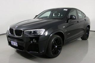 2016 BMW X4 F26 MY16 xDrive 20I Black 8 Speed Automatic Coupe.