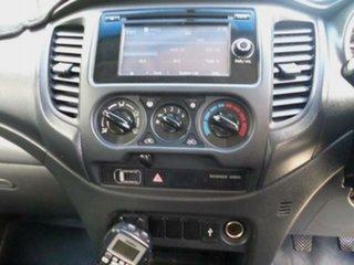 2016 Mitsubishi Triton MQ MY16 GLX Grey 6 Speed Manual Dual Cab Utility