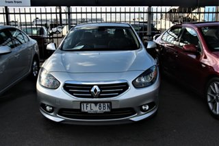 2013 Renault Fluence L38 Phase 2 Privilege Silver 6 Speed Constant Variable Sedan.