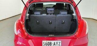 2013 Suzuki Swift FZ GL Red 5 Speed Manual Hatchback