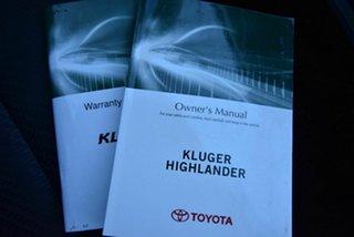 2016 Toyota Kluger GSU50R GX 2WD Blue 6 Speed Sports Automatic Wagon