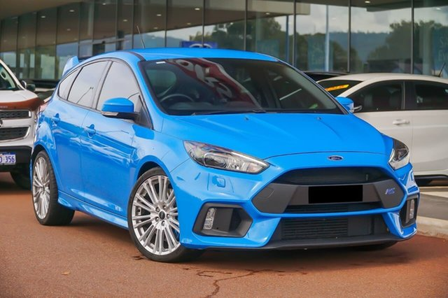 Used Ford Focus LZ RS AWD Gosnells, 2016 Ford Focus LZ RS AWD Blue 6 Speed Manual Hatchback