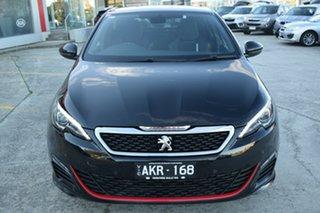 2017 Peugeot 308 T9 MY17 GTI 270 Black 6 Speed Manual Hatchback.