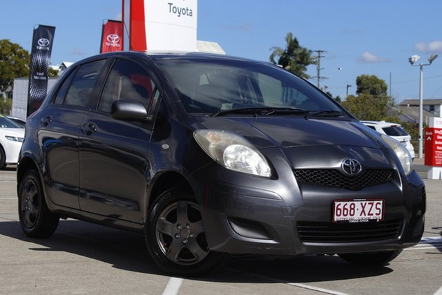 Pre-Owned Toyota Yaris NCP90R MY11 YR Albion, 2010 Toyota Yaris NCP90R MY11 YR Graphite 5 Speed Manual Hatchback