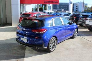 2020 Hyundai i30 PD.V4 MY21 N Line D-CT Premium Intense Blue 7 Speed Sports Automatic Dual Clutch.