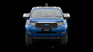 2021 Ford Ranger PX MkIII XLT Double Cab Blue Lightning 6 Speed Manual Pick Up