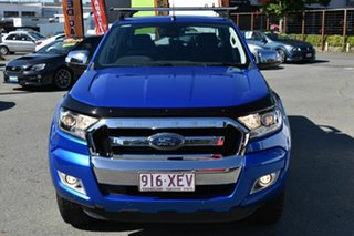 2017 Ford Ranger PX MkII MY17 XLT 3.2 (4x4) Blue 6 Speed Automatic Double Cab Pick Up