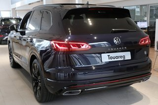 2021 Volkswagen Touareg CR MY21 210TDI Tiptronic 4MOTION Wolfsburg Edition Blue 8 Speed.