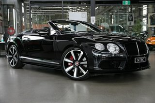 2015 Bentley Continental 3W MY15 GT V8 S Black 8 Speed Sports Automatic Convertible.