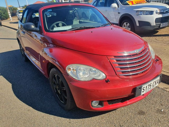 Used Chrysler PT Cruiser PG MY2007 Touring Morphett Vale, 2007 Chrysler PT Cruiser PG MY2007 Touring Burgundy 4 Speed Sports Automatic Convertible