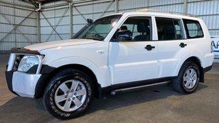 2007 Mitsubishi Pajero NS GLX White 5 Speed Sports Automatic Wagon.