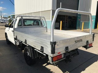 2017 Toyota Hilux TGN121R Workmate 4x2 Glacier 6 speed Automatic Cab Chassis