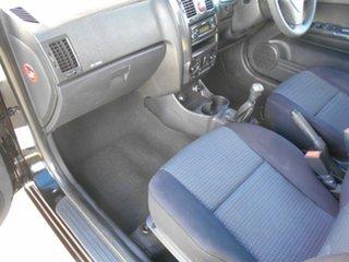 2010 Hyundai Getz TB MY09 S Black 5 Speed Manual Hatchback