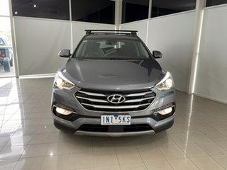 2018 Hyundai Santa Fe DM5 MY18 Active Silver, Chrome 6 Speed Sports Automatic Wagon.