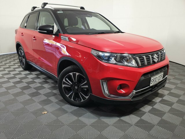 Used Suzuki Vitara LY Series II Turbo 2WD Wayville, 2019 Suzuki Vitara LY Series II Turbo 2WD Red 6 Speed Sports Automatic Wagon