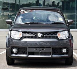 2021 Suzuki Ignis MF Series II GL Mineral Grey 5 Speed Manual Hatchback.
