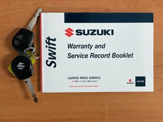 2015 Suzuki Swift FZ MY15 GL Navigator White 5 Speed Manual Hatchback