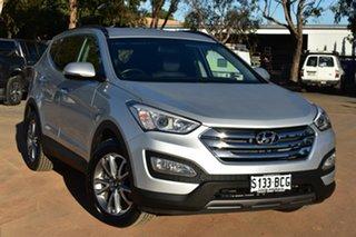 2014 Hyundai Santa Fe DM2 MY15 Elite Silver 6 Speed Sports Automatic Wagon.