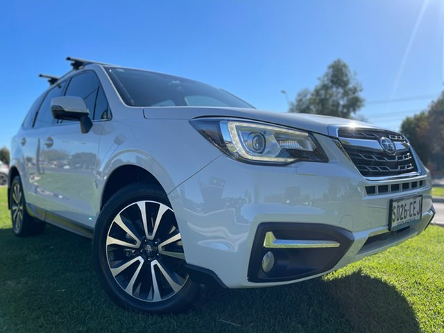 Used Subaru Forester S4 MY16 2.0D-S CVT AWD Hindmarsh, 2016 Subaru Forester S4 MY16 2.0D-S CVT AWD White 7 Speed Constant Variable Wagon