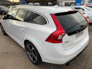2012 Volvo V60 F Series MY13 T5 PwrShift White 6 Speed Sports Automatic Dual Clutch Wagon.