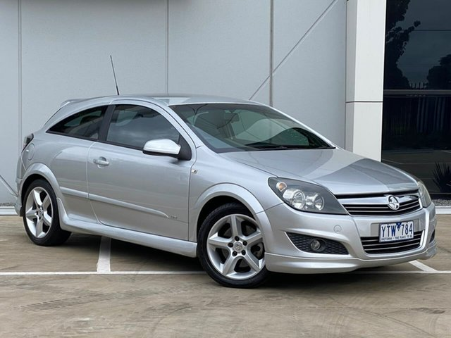 Used Holden Astra AH MY07 SRi Templestowe, 2007 Holden Astra AH MY07 SRi Silver 6 Speed Manual Coupe