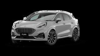 2021 Ford Puma JK 2021.25MY ST-Line V Solar Silver 7 Speed Sports Automatic Dual Clutch Wagon