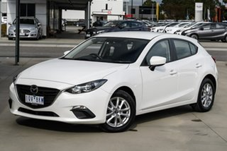 2015 Mazda 3 BM5478 Neo SKYACTIV-Drive White 6 Speed Sports Automatic Hatchback.