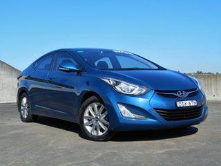 2013 Hyundai Elantra MD3 Trophy Blue 6 Speed Sports Automatic Sedan.