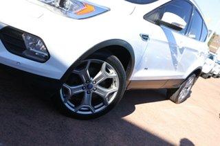 2017 Ford Escape ZG Titanium (AWD) White 6 Speed Automatic SUV.