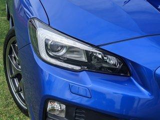 2016 Subaru WRX V1 MY17 STI AWD Premium Blue 6 Speed Manual Sedan