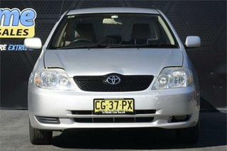 2002 Toyota Corolla ZZE122R Ascent Silver 4 Speed Automatic Sedan.