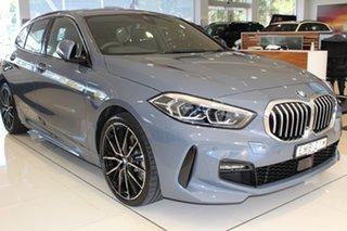 2021 BMW 1 Series F40 118i DCT Steptronic M Sport Storm Bay Metallic 7 Speed.