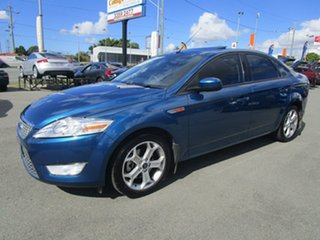 2008 Ford Mondeo MA TDCi Blue 6 Speed Sports Automatic Sedan.