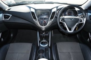 2016 Hyundai Veloster FS5 Series II Coupe D-CT Grey 6 Speed Sports Automatic Dual Clutch Hatchback