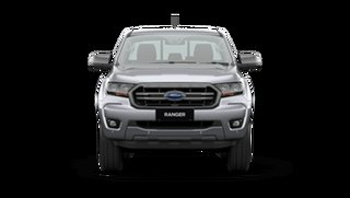 2021 Ford Ranger PX MkIII 2021.25MY XLS Aluminium Silver 6 Speed Sports Automatic Double Cab Pick Up