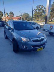 2013 Holden Captiva CG Series II MY12 5 AWD Grey 6 Speed Sports Automatic Wagon.