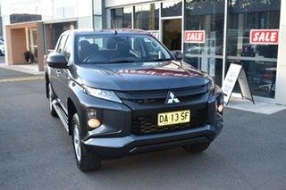 2019 Mitsubishi Triton MR MY19 GLX+ Club Cab Grey 6 Speed Sports Automatic Utility.