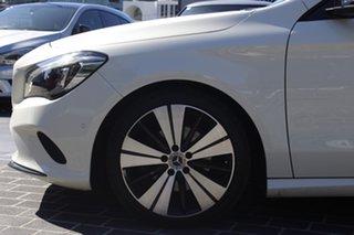 2017 Mercedes-Benz CLA-Class X117 807MY CLA200 Shooting Brake DCT White 7 Speed