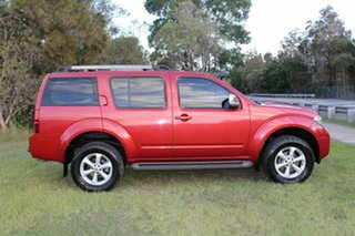 2008 Nissan Pathfinder R51 MY08 ST-L Red 5 Speed Sports Automatic Wagon