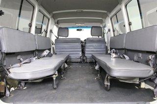 2006 Toyota Landcruiser HZJ78R (4x4) 11 Seat White 5 Speed Manual 4x4 TroopCarrier