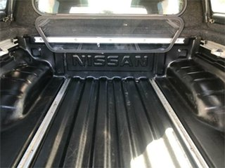 2008 Nissan Navara D40 Outlaw Black 6 Speed Manual Utility